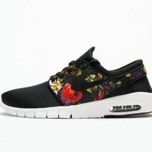 Nike SB Stefan Janoski Max Floral Sz M 8 W 9.5